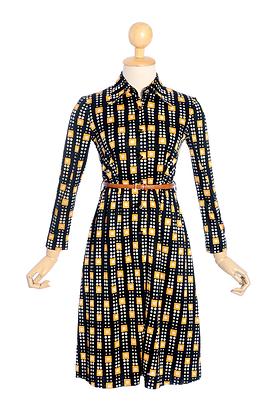 70s Glitch Vintage Dress