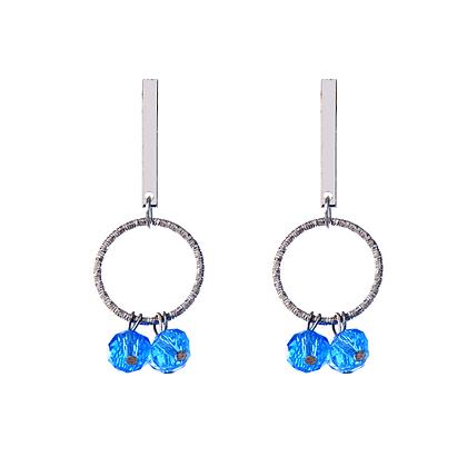 Sapphire Jewel Drop Earrings