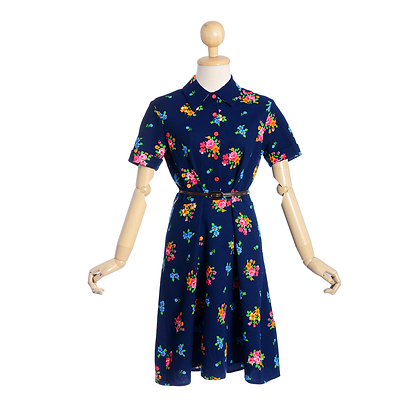 Bouquet Vintage Dress