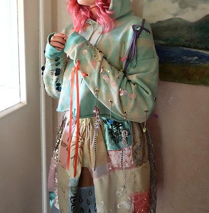Aisling Duffy Seafoam Tie Dye Hoodie