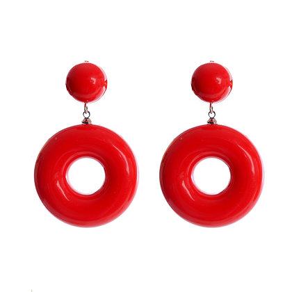 Sizzling Scarlet Earrings