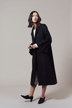 Edel Traynor Wool & Cashmere Blend Long Coat