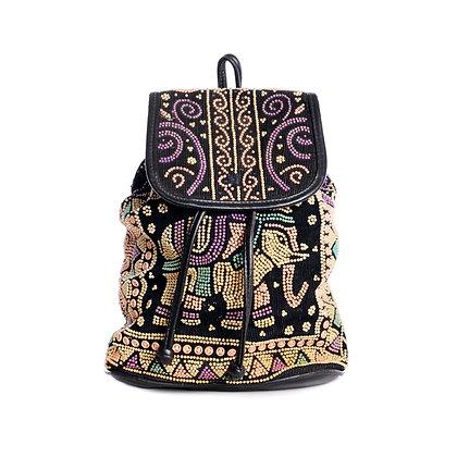 Etherial Elephant Vintage Backpack