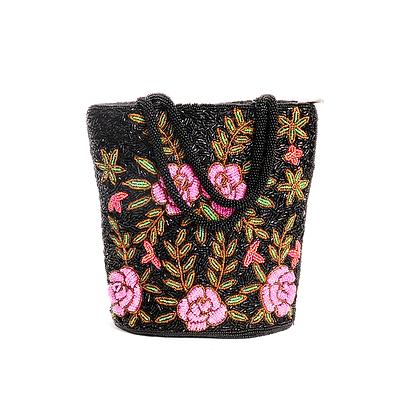 Wild Rose Vintage Bag