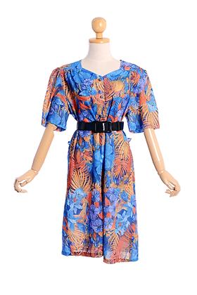 Blooming Bahamas Vintage Dress