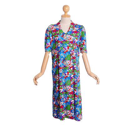 Colour Pop Vintage Dress