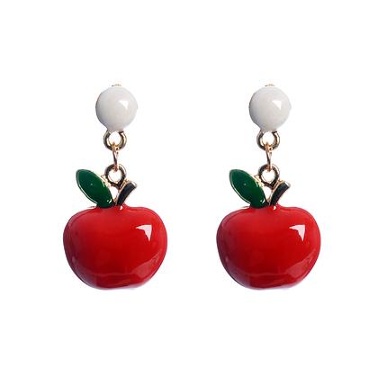 'An Apple a Day' Earrings