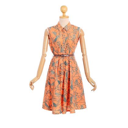 Anchors Away Vintage Dress