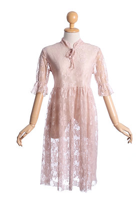 Belle Of The Ball Vintage Lace Slip