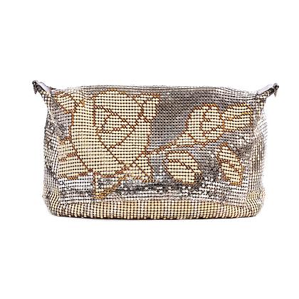 Gold Rose Glomesh Vintage Bag