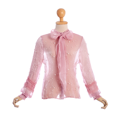 Pearl Party Blouse
