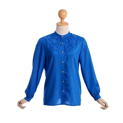 Capri Blue Vintage Blouse