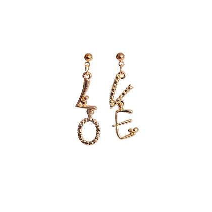 L . O . V . E  Earrings