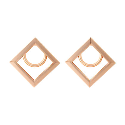 Modern Art Deco Earrings