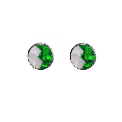 Emerald & Ebony Earrings