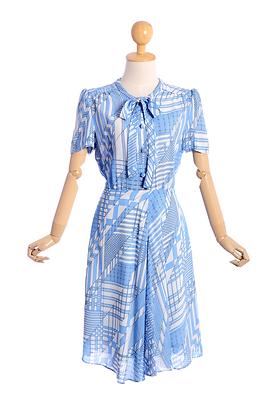 The Sky's The Limit Vintage Dress