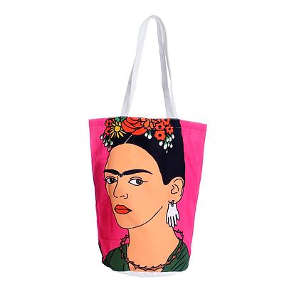 Frida Kahlo Pink Tote