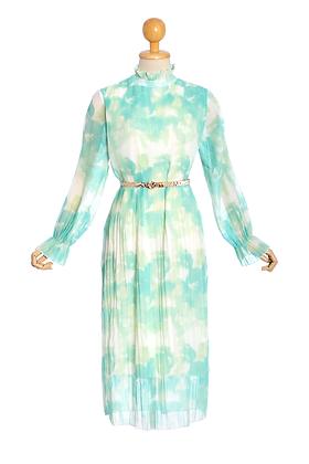 Memories of Monet Watercolour Dress