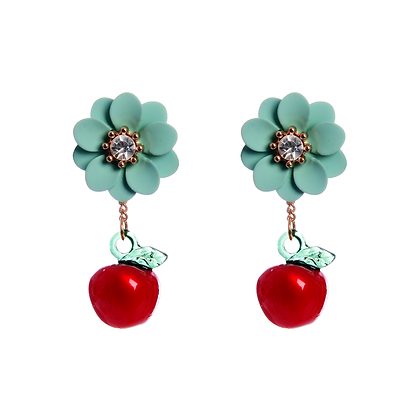 Apple Bottom Earrings