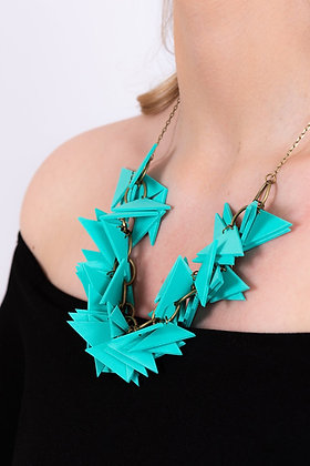 Sandia Turquoise Triangle Necklace