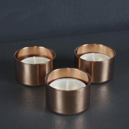 Kopper Kreation Copper Tea Light Holder x3