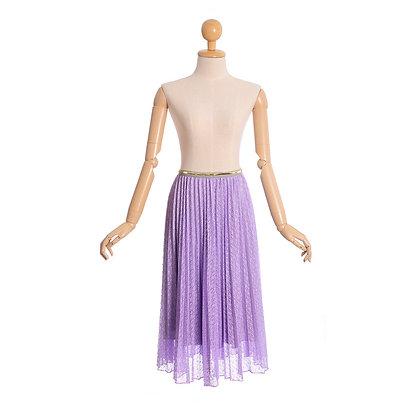 Lavender Lace Skirt