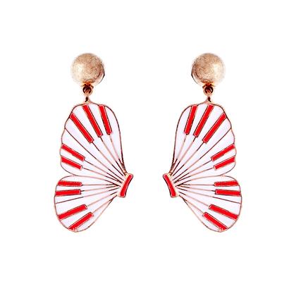 Red Admiral Earrings