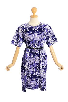 Violet Garden Vintage Dress