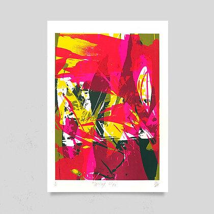 Sonofafox 'Spring Lillies' print
