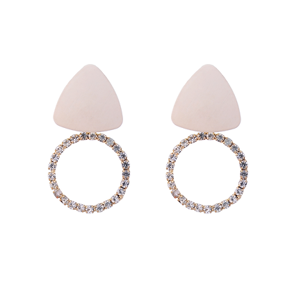 Iridescent Ivory Earrings