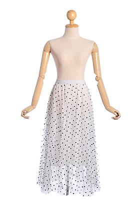 Miss Monochrome Tulle Skirt