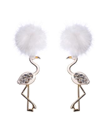 Funky Flamingo Earrings