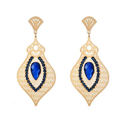 Egyptian Blue Earrings