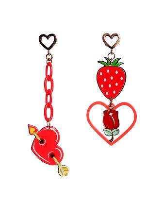 Strawberry Soirée Earrings