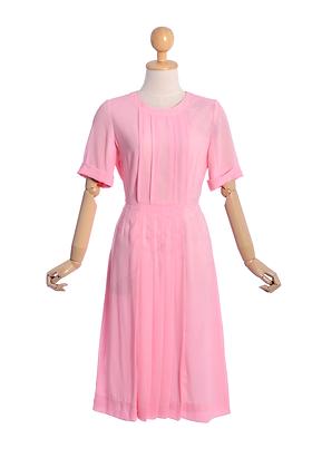 Strawberry Milkshake Vintage Dress