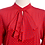 Thumbnail: Red & Blue Just For You Vintage Blouse