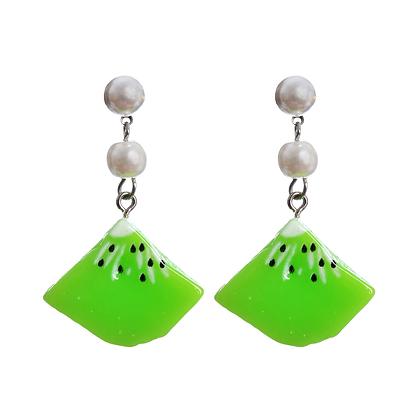 Kiss Me Kiwi Earrings