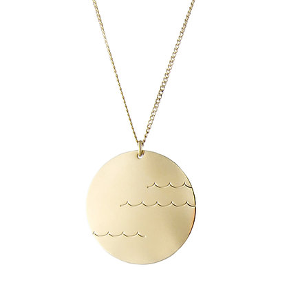 Aliquo Waves Necklace