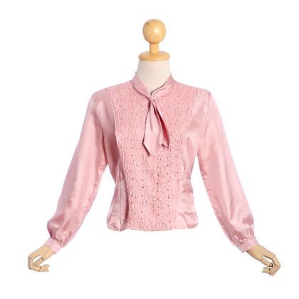 Candy Carousel Vintage Blouse