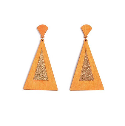 The Auld Triangle Earrings