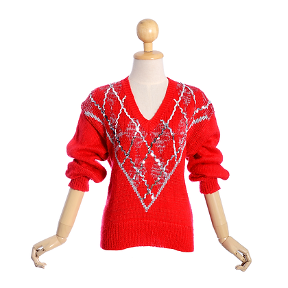 Christmas Red Jumper