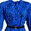 Thumbnail: Iconic In Indigo Vintage Dress