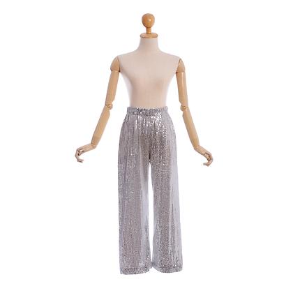 Twinkle Trousers in Silver