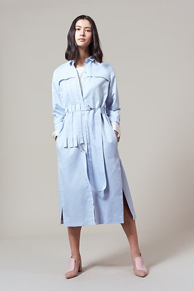 Edel Traynor Cotton Trench Shirt