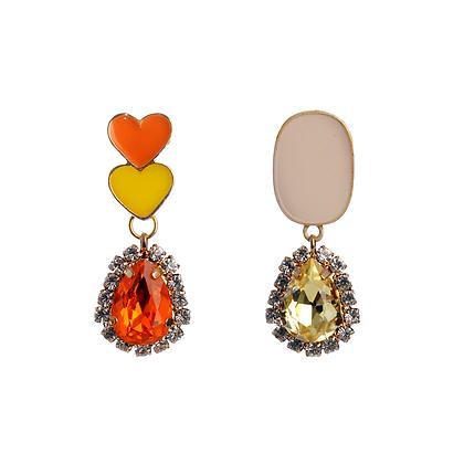 Sunrise Gemstone Earrings