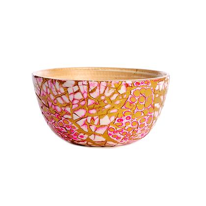 Mermaid Scale Bamboo Bowl