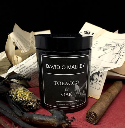 David O Malley Tobacco & Oak Candle