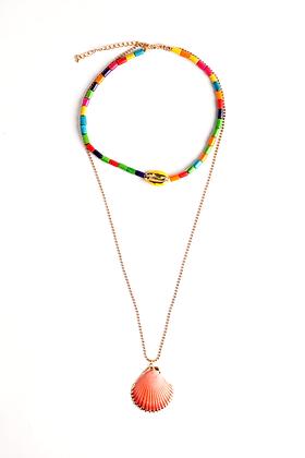 She Sells, Sea Shells Necklace
