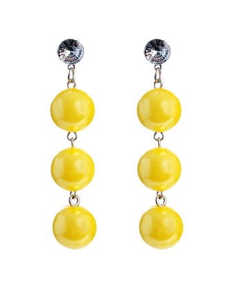 Lemon Gum Drop Earrings