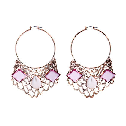 """""""Too Glam to give a Damn"""" Earrings"""